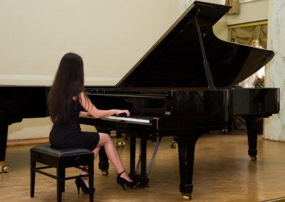 Reconstruction of Beethoven Fantasia Sonata