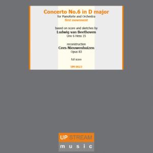 Piano concerto no. 6 Beethoven hardcover
