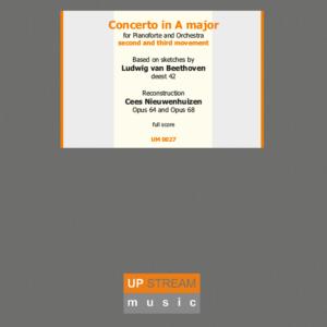 Concerto in A major Deest 42 Hardcover